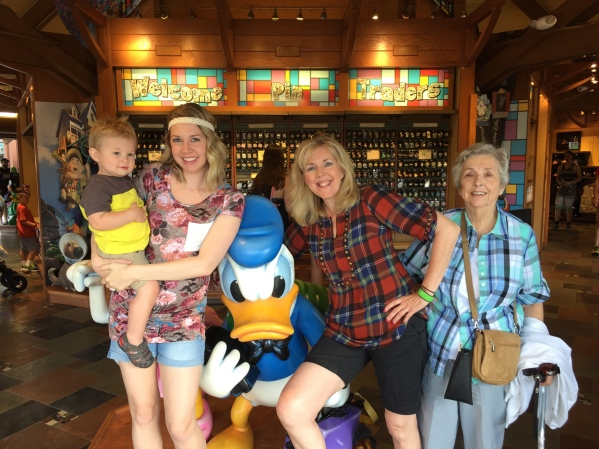 4 generations! And Donald.
